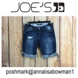 💸Joe's Jeans Distressed Denim Short size 25